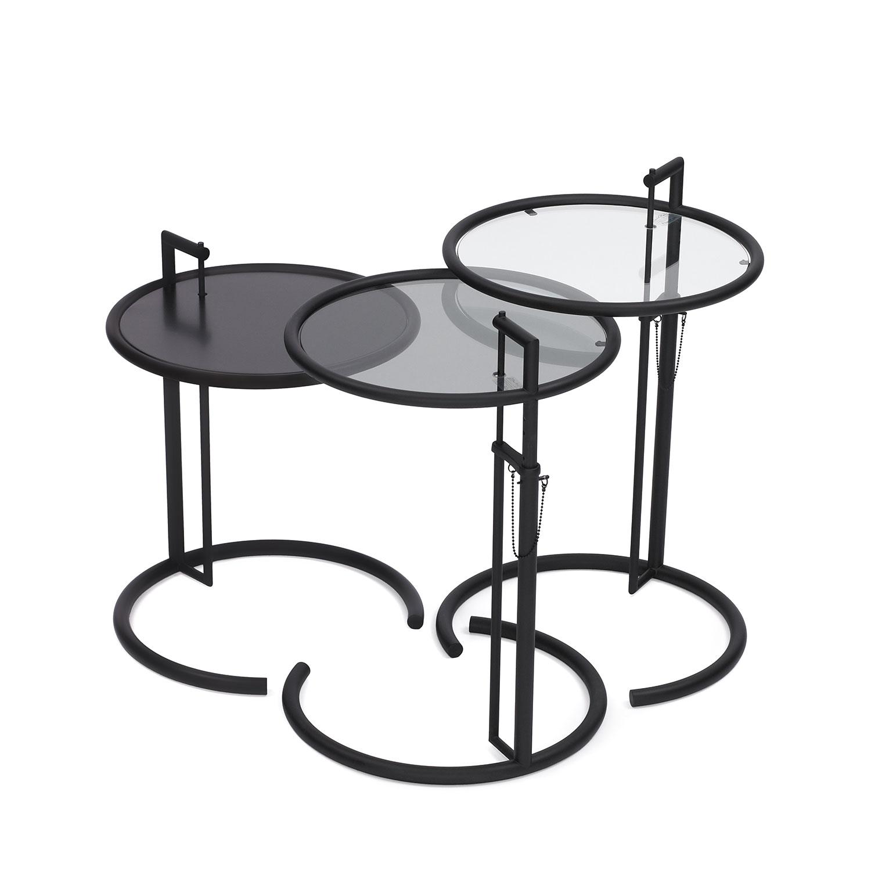Classicon e-1027 table black by Eileen Gray - Best of Salone Internazionale del Mobile 2015   Yellowtrace