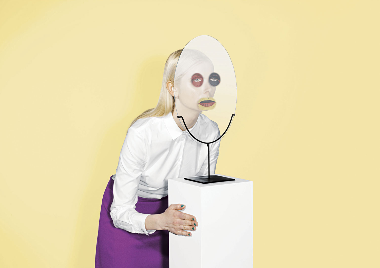 Ecal PhotoBooth Mask Milan Design Week 2015 | Yellowtrace