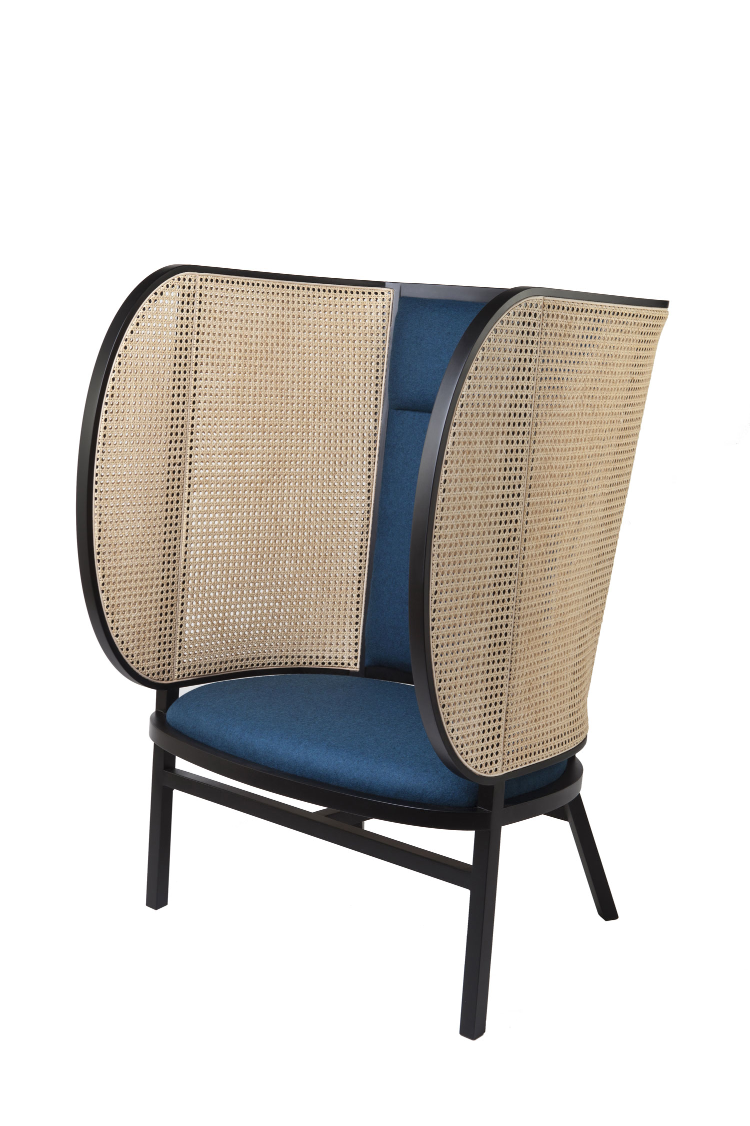 Gebruder Thonet HIDEOUT Lounge Chair by Front - Best of Salone Del Mobile 2015   Yellowtrace