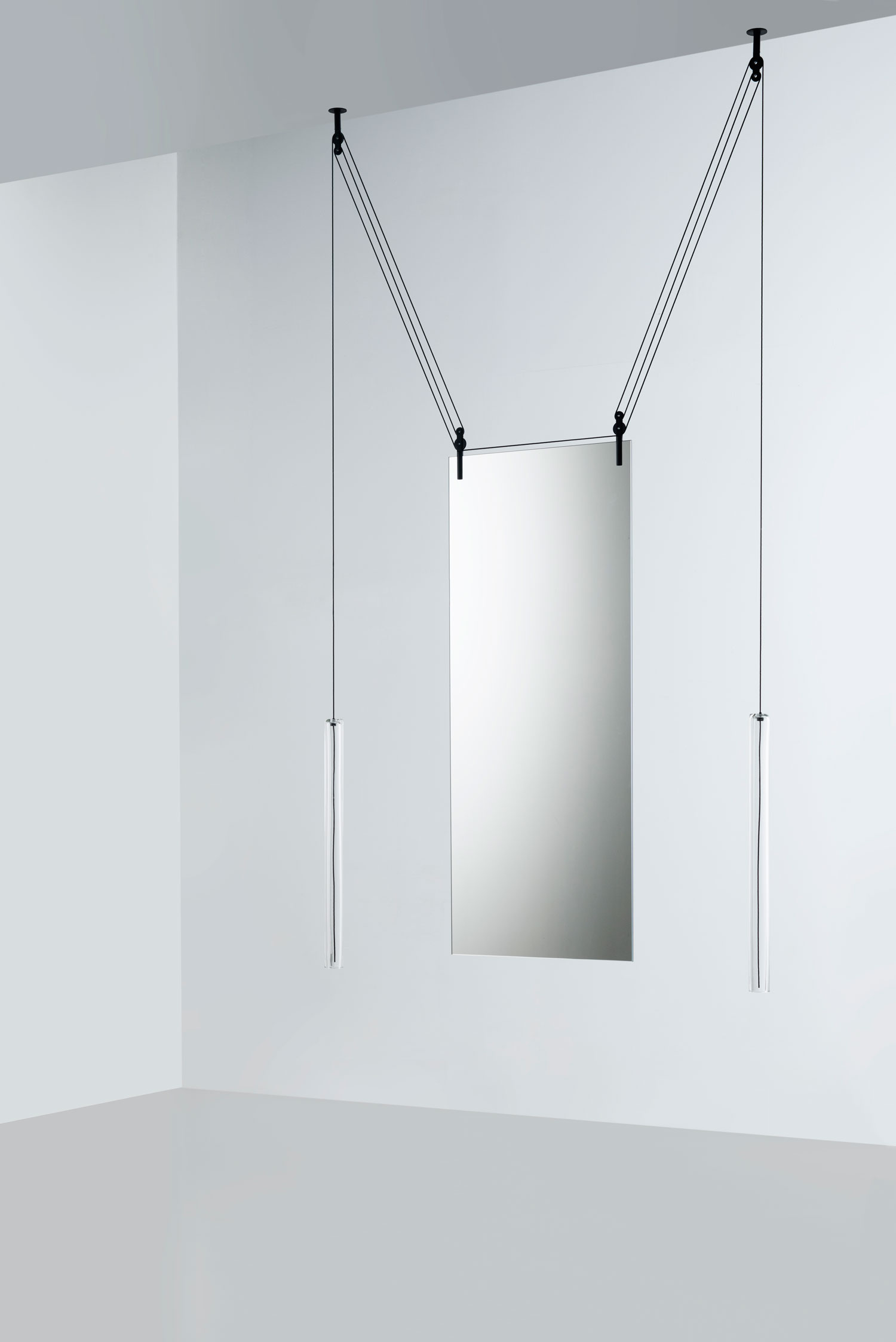 Glas Italia PALANCO Mirror by The Bouroullecs - Best of Salone Del Mobile 2015   Yellowtrace