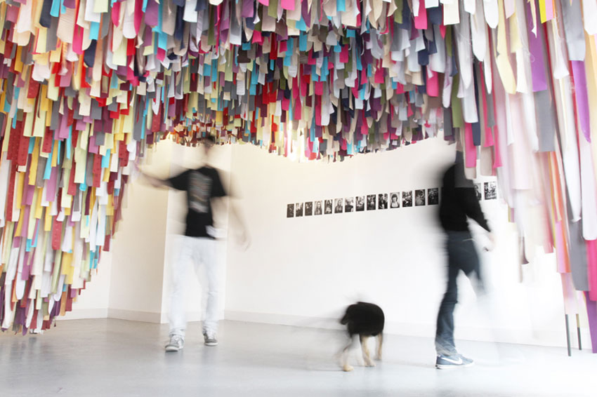 Hairchitecture Installation by FAHR 021.3 GIJO | Yellowtrace