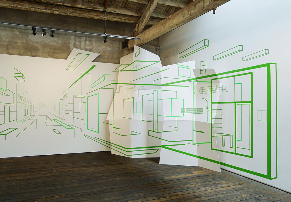 Installation Art by Damien Gilley   Yellowtrace