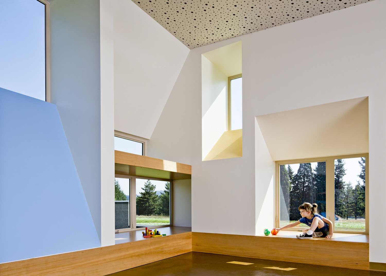 Mt Hood Community College Early Childhood Center by Mahlum | Yellowtrace