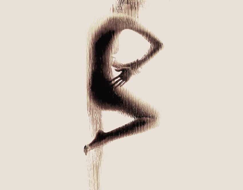 Naked Silhouette Alphabet by Anastasia Mastrakouli | Yellowtrace