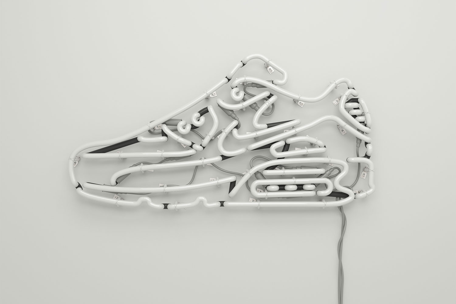 Nike AirMax Neon Art by Rizon Parein | Yellowtrace