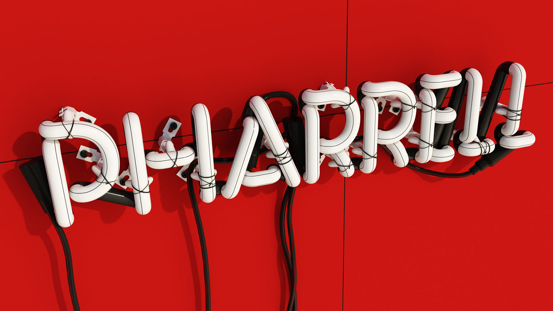 Pharrell Neon by Rizon Parein | Yellowtrace