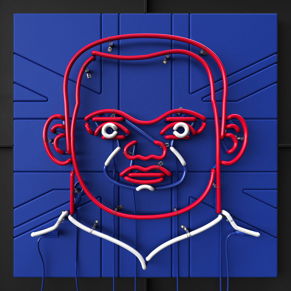 Rooney Neon by Rizon Parein | Yellowtrace