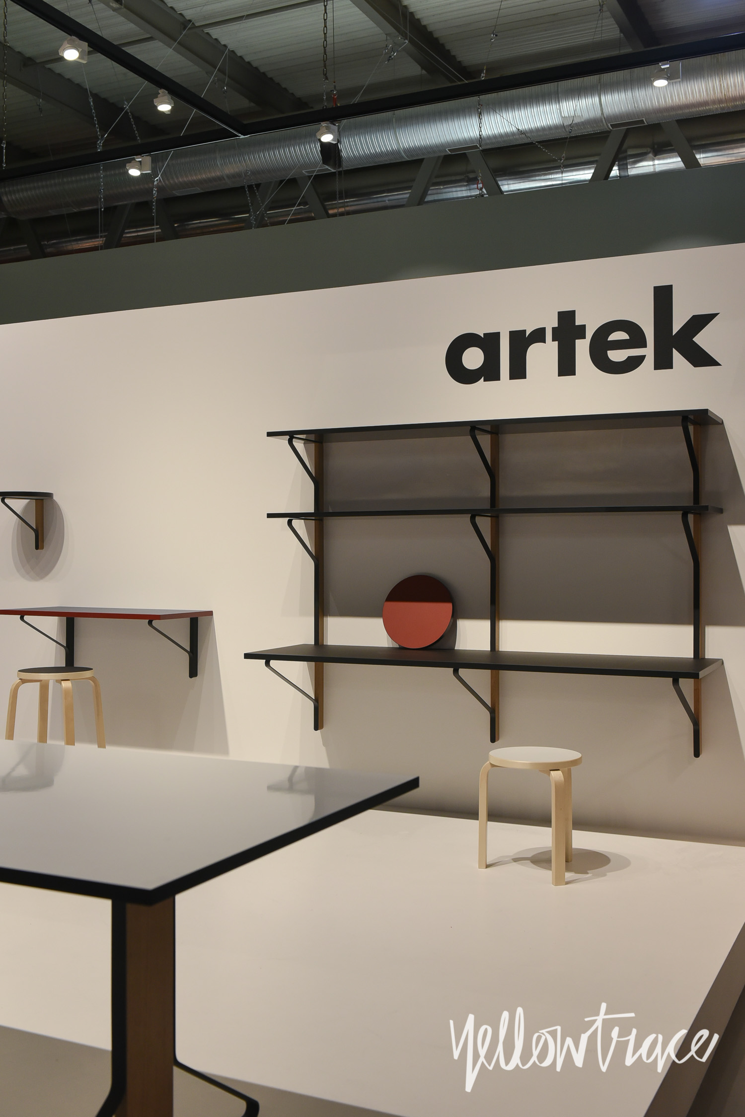 Artek stand at salone del mobile 2015 photo nick hughes for Salone del mobile stand