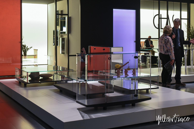 Glas Italia Stand at Salone del Mobile 2015 - Photo Nick Hughes / Yellowtrace