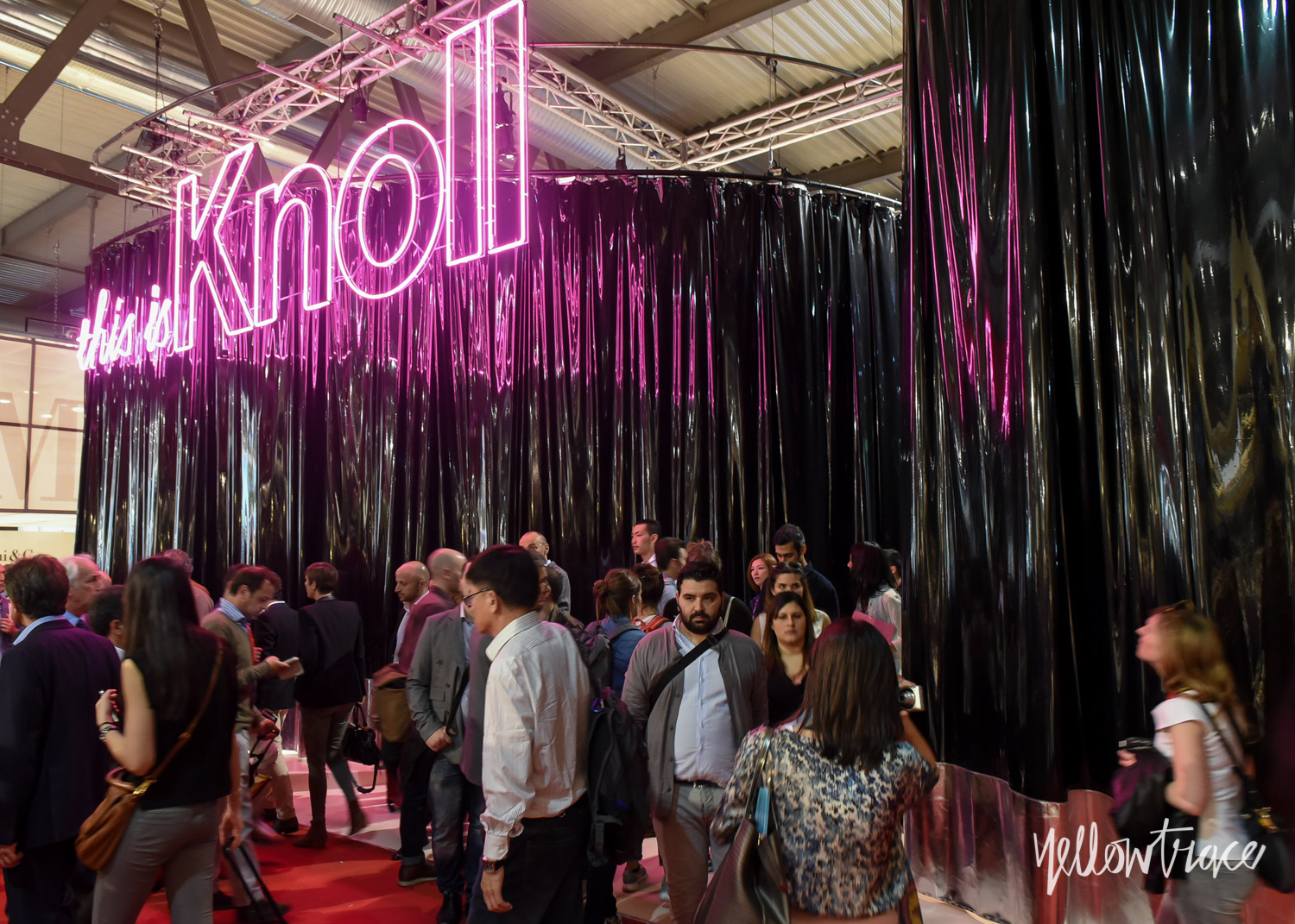 Knoll Stand at Salone Internazionale del Mobile - Photo Nick Hughes / Yellowtrace