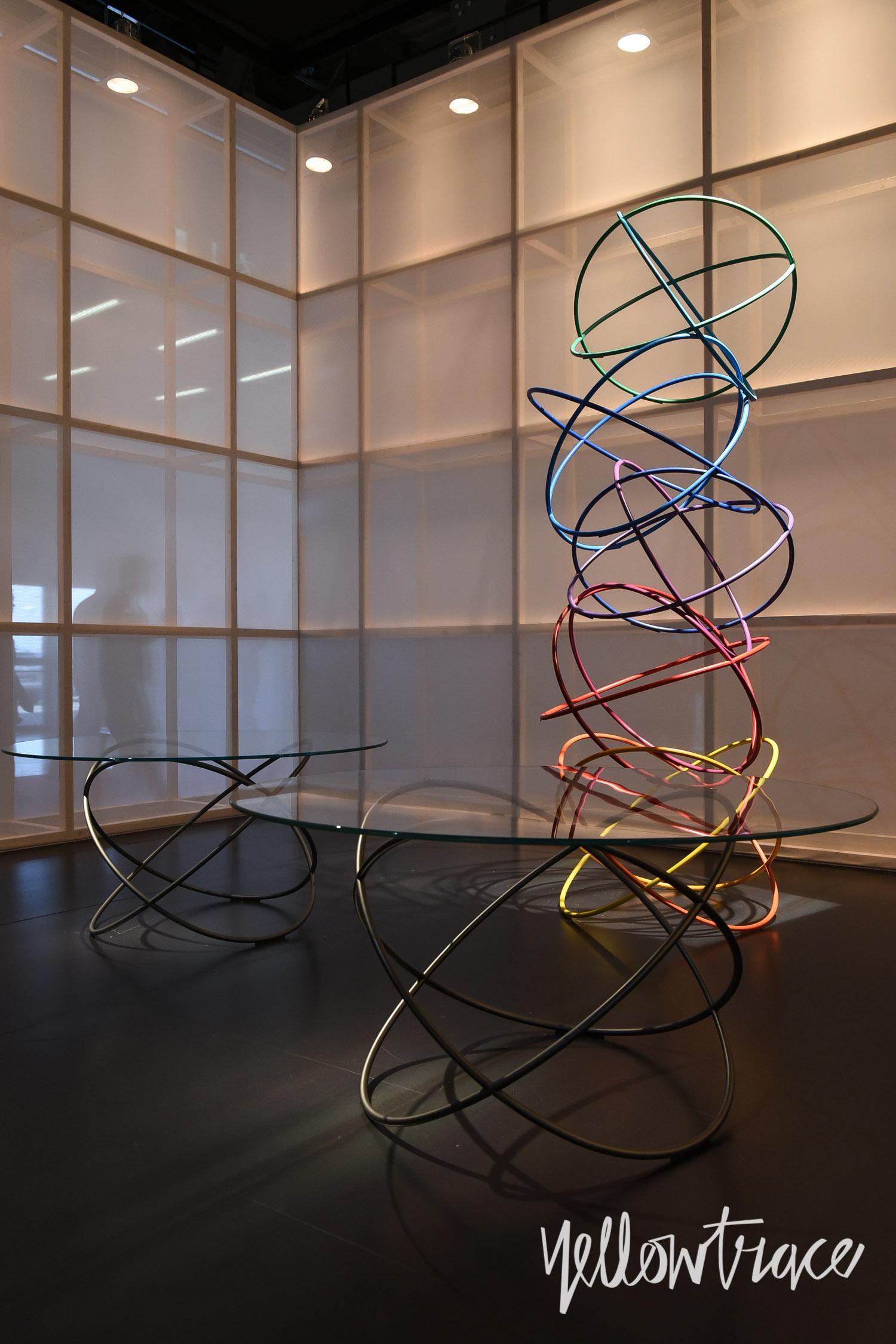 Molteni Stand at Salone Internazionale del Mobile - Photo Nick Hughes / Yellowtrace
