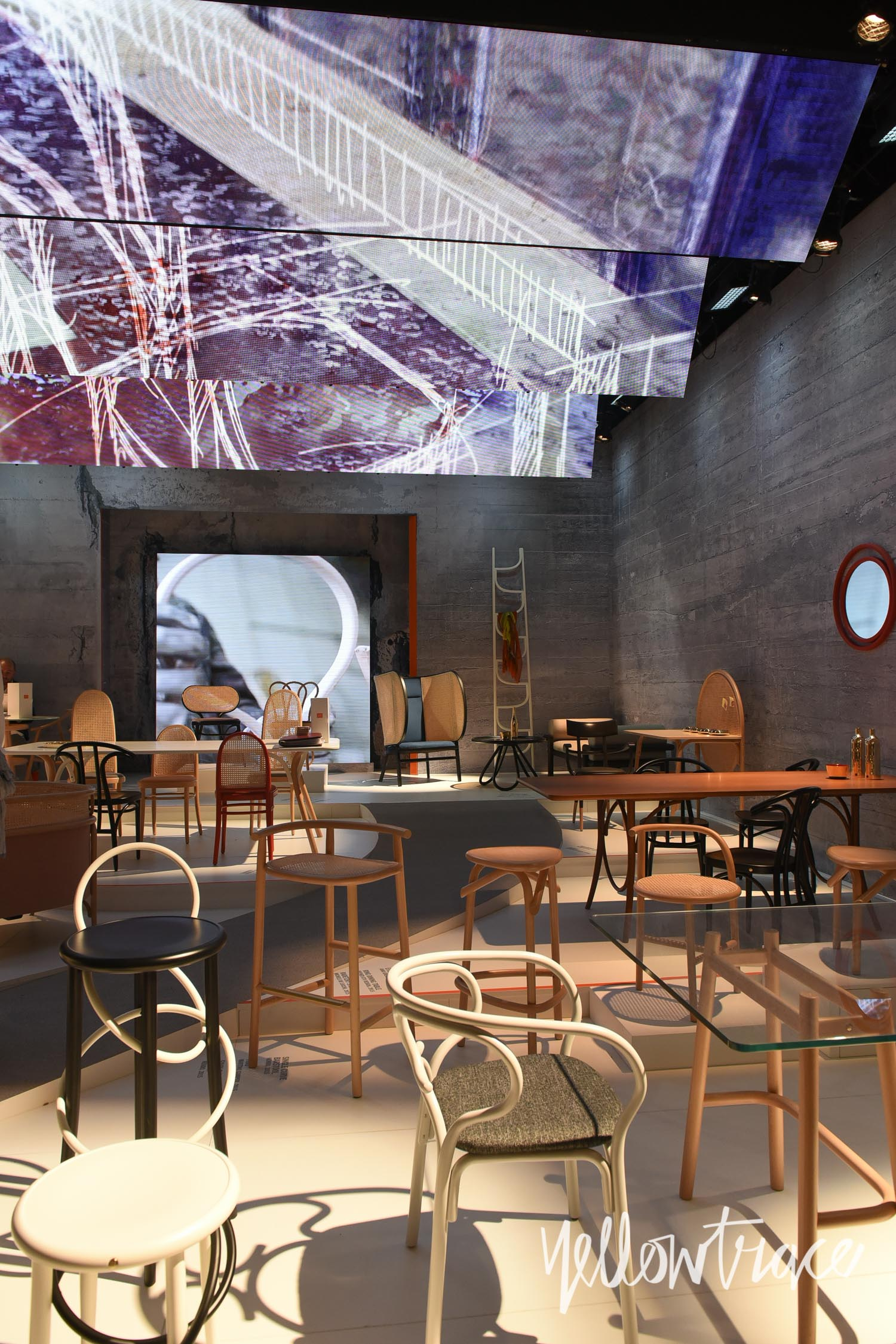 Thonet Stand at Salone del Mobile 2015 - Photo Nick Hughes / Yellowtrace