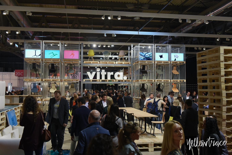 Vitra Stand at Salone Internazionale del Mobile - Photo Nick Hughes / Yellowtrace