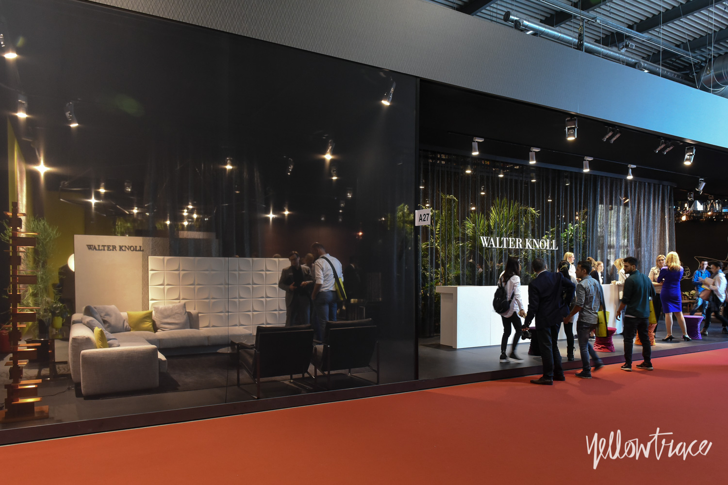 Walter Knoll Stand at Salone Internazionale del Mobile - Photo Nick Hughes / Yellowtrace