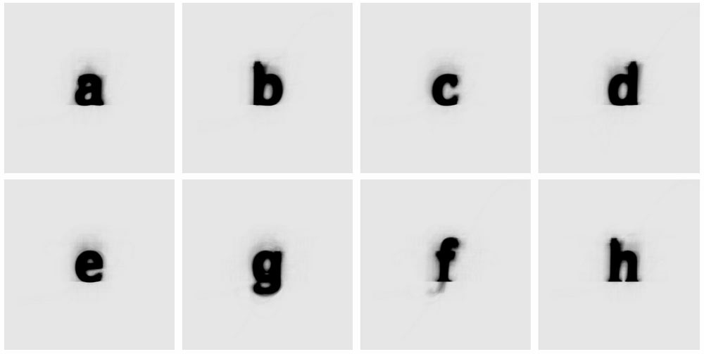 The Average Font by Moritz Resl   Yellowtrace