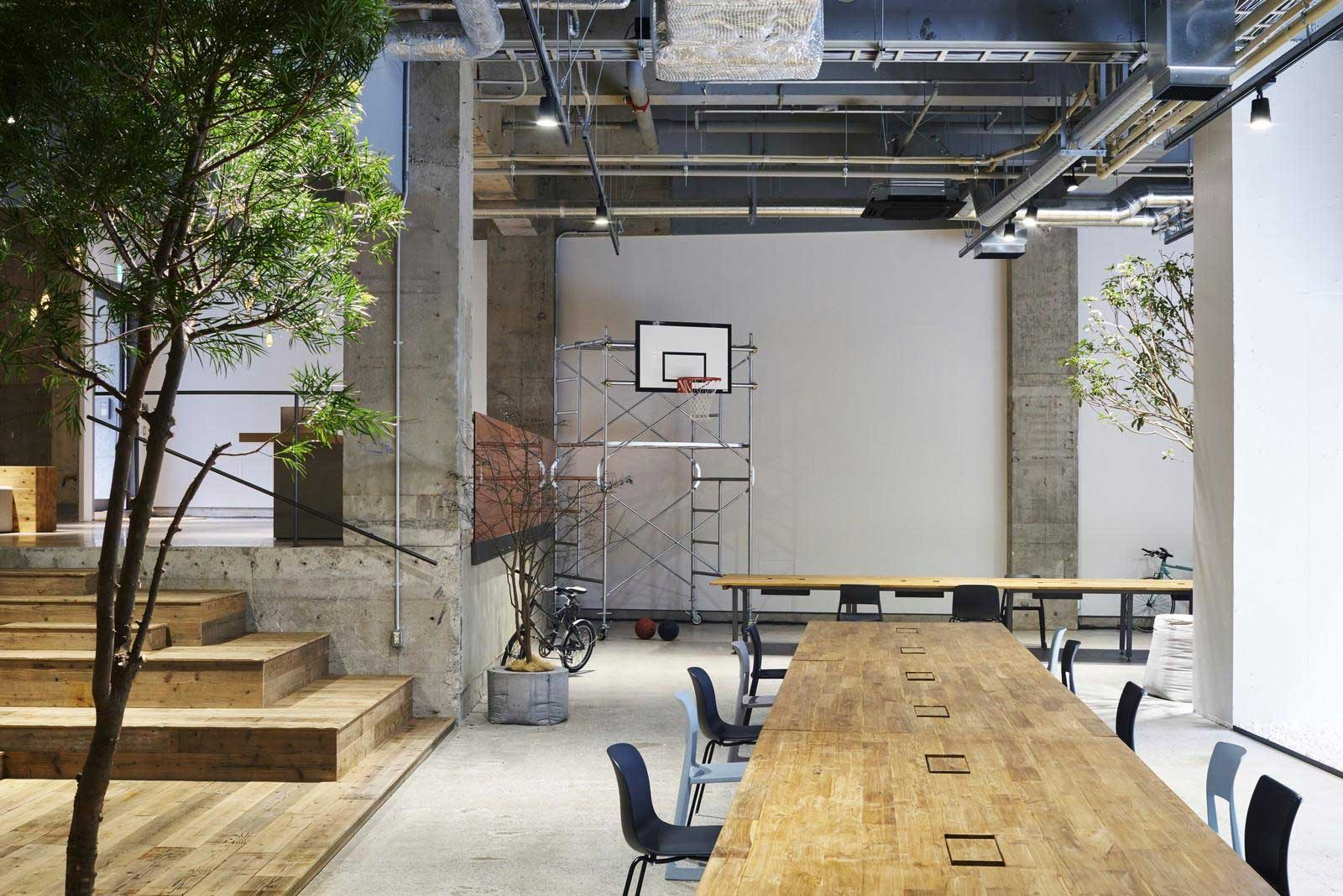 office and warehouse space. AKQA Tokyo Office By Torafu Architects | Yellowtrace And Warehouse Space U