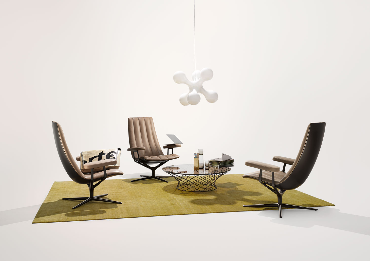 Walter Knoll Healey Lounge - Best of Salone Del Mobile 2015   Yellowtrace
