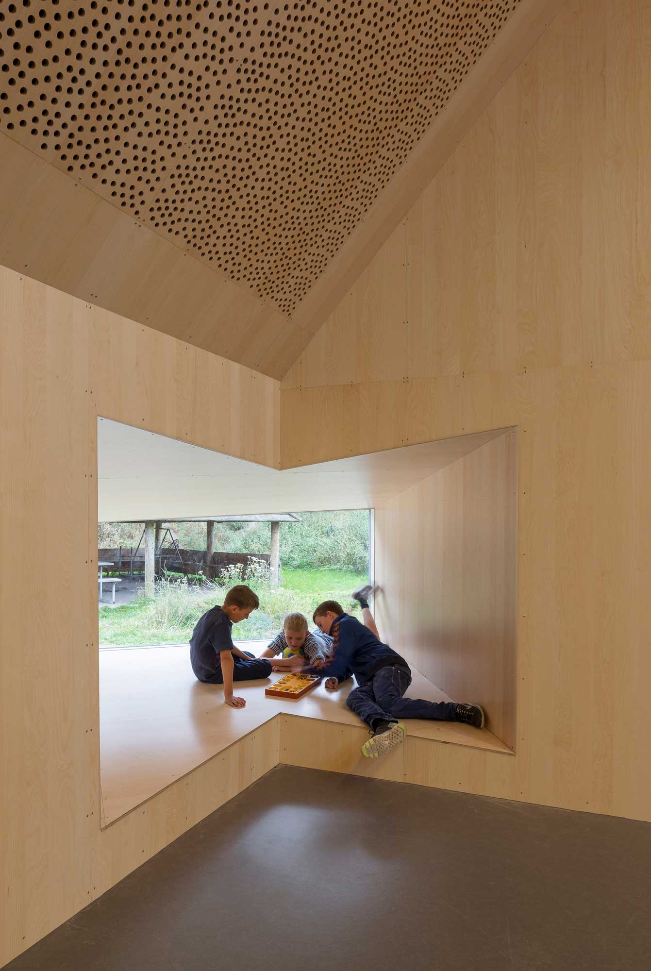 Youth Centre in Roskilde by Cornelius & Voge | Yellowtrace