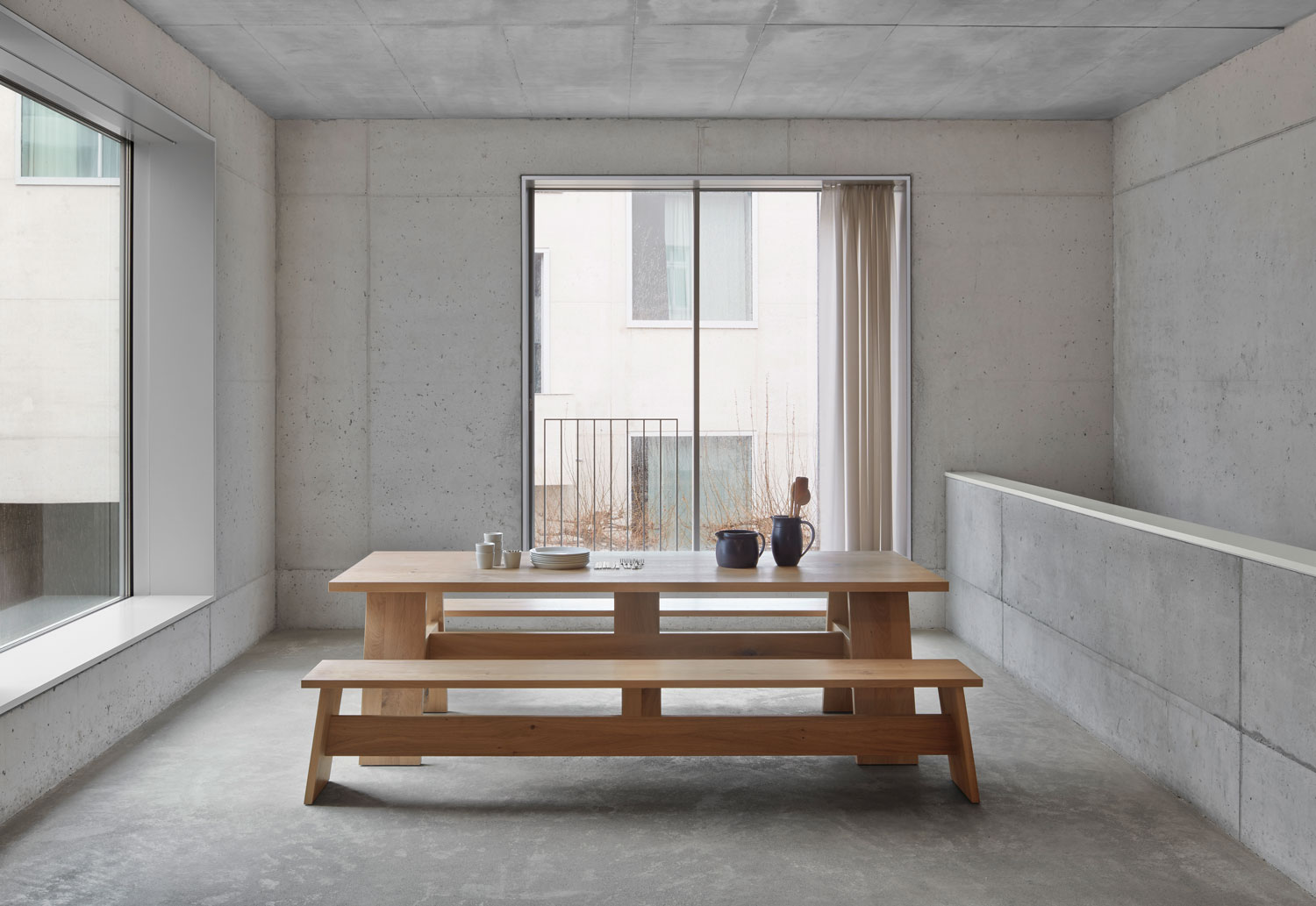 e15 FAYLAND Table by David Chipperfield - Best of Salone Del Mobile 2015   Yellowtrace