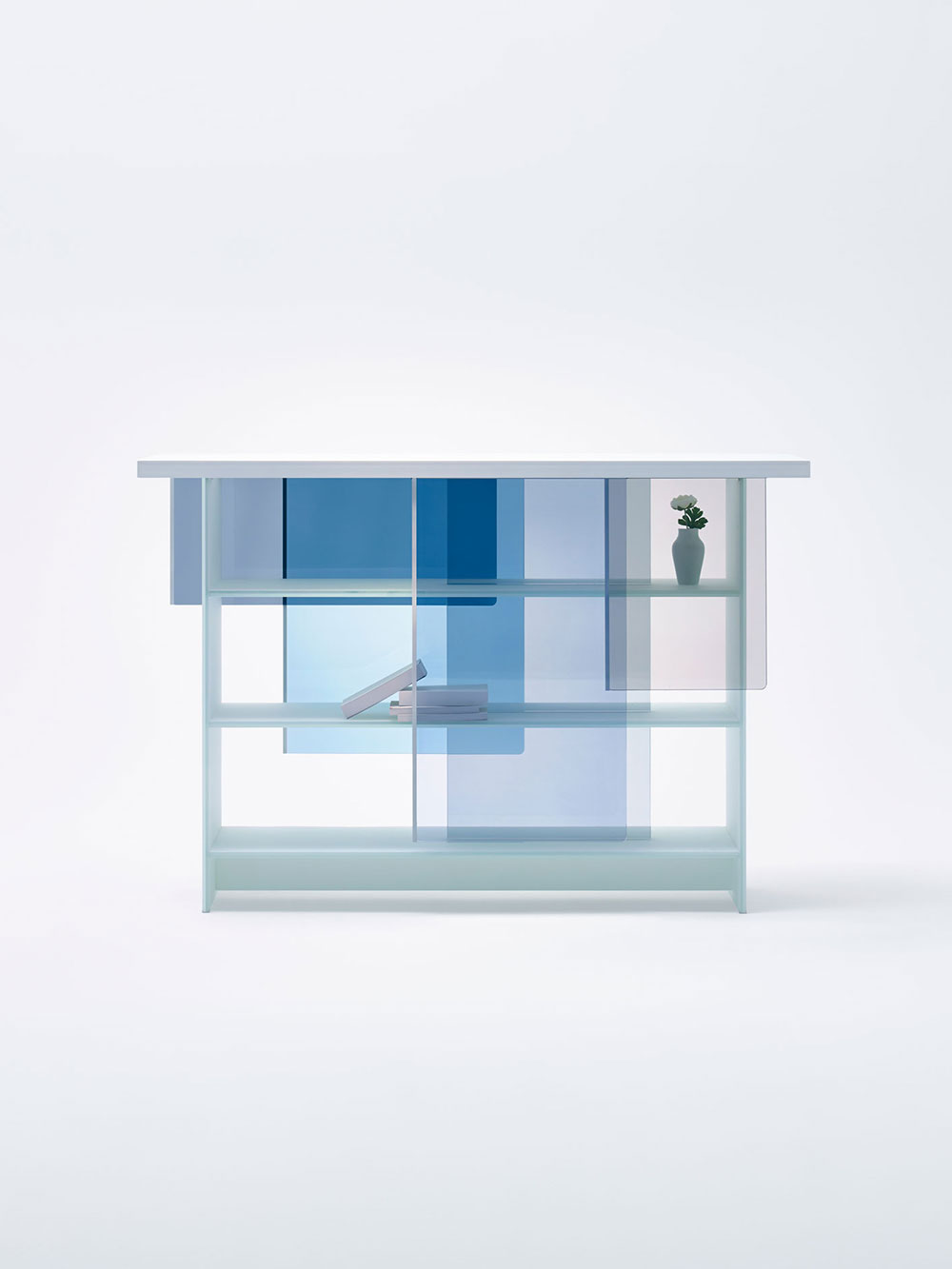 nendo layers cabinet | #MILANTRACE2015 by Yellowtrace
