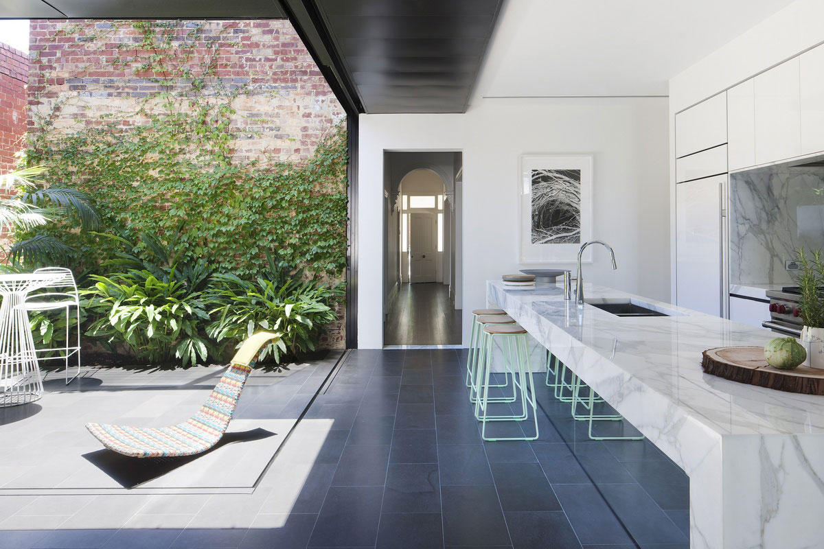 Abstract House by Matt Gibson Architecture & Design. Photo by Shannon McGrath | Yellowtrace