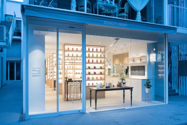 Beauty Library by Nendo at Tokyo's Aoyama | Yellowtrace