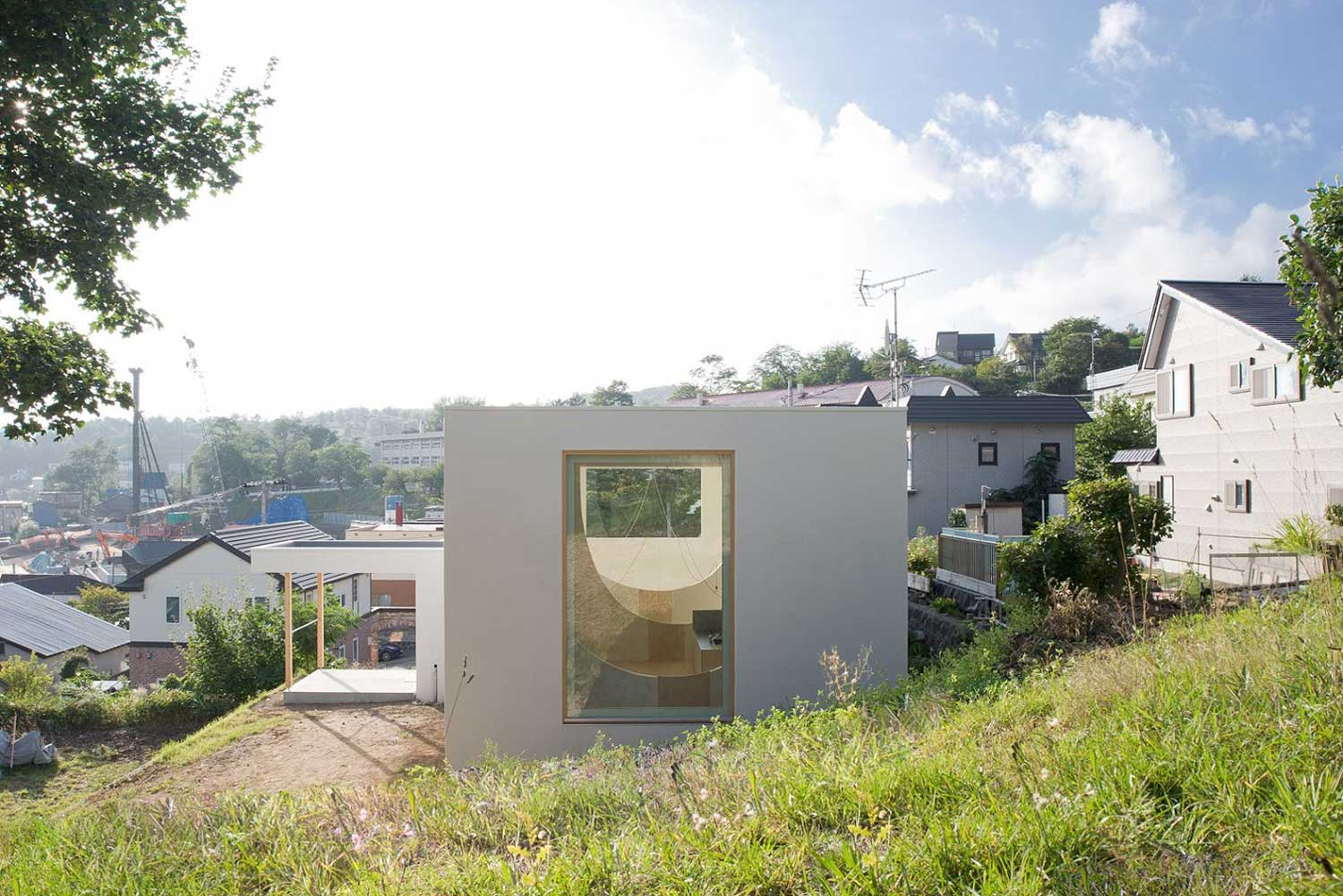 Brother House by Hiroshi Kuno Associates | Yellowtrace
