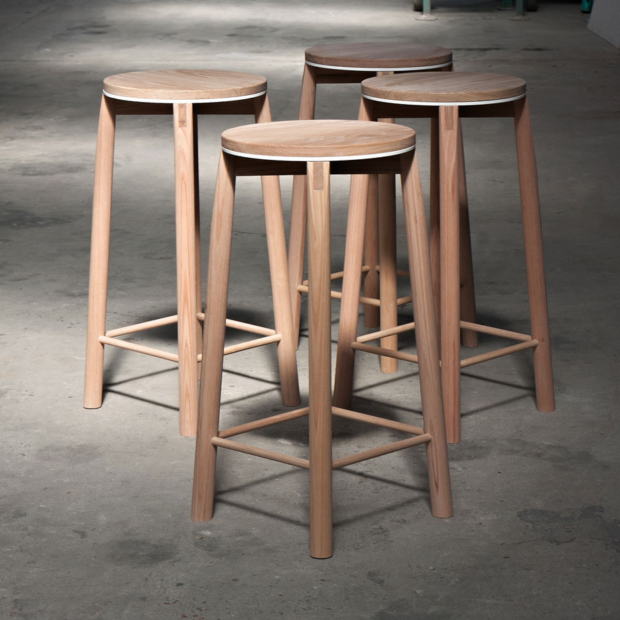 Admirable Crop Stool By Rem Furniture Yellowtrace Pabps2019 Chair Design Images Pabps2019Com