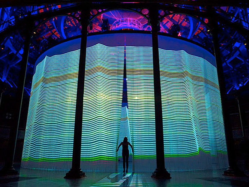Curtain Call by Ron Arad at Roundhouse London | Yellowtrace