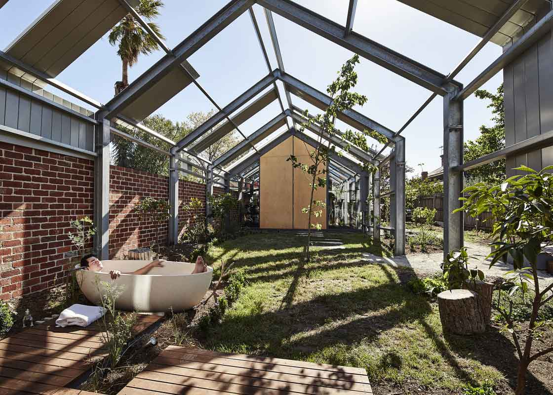 Cut Paw Paw by Andrew Maynard Architects. Photo by Peter Bennetts | Yellowtrace