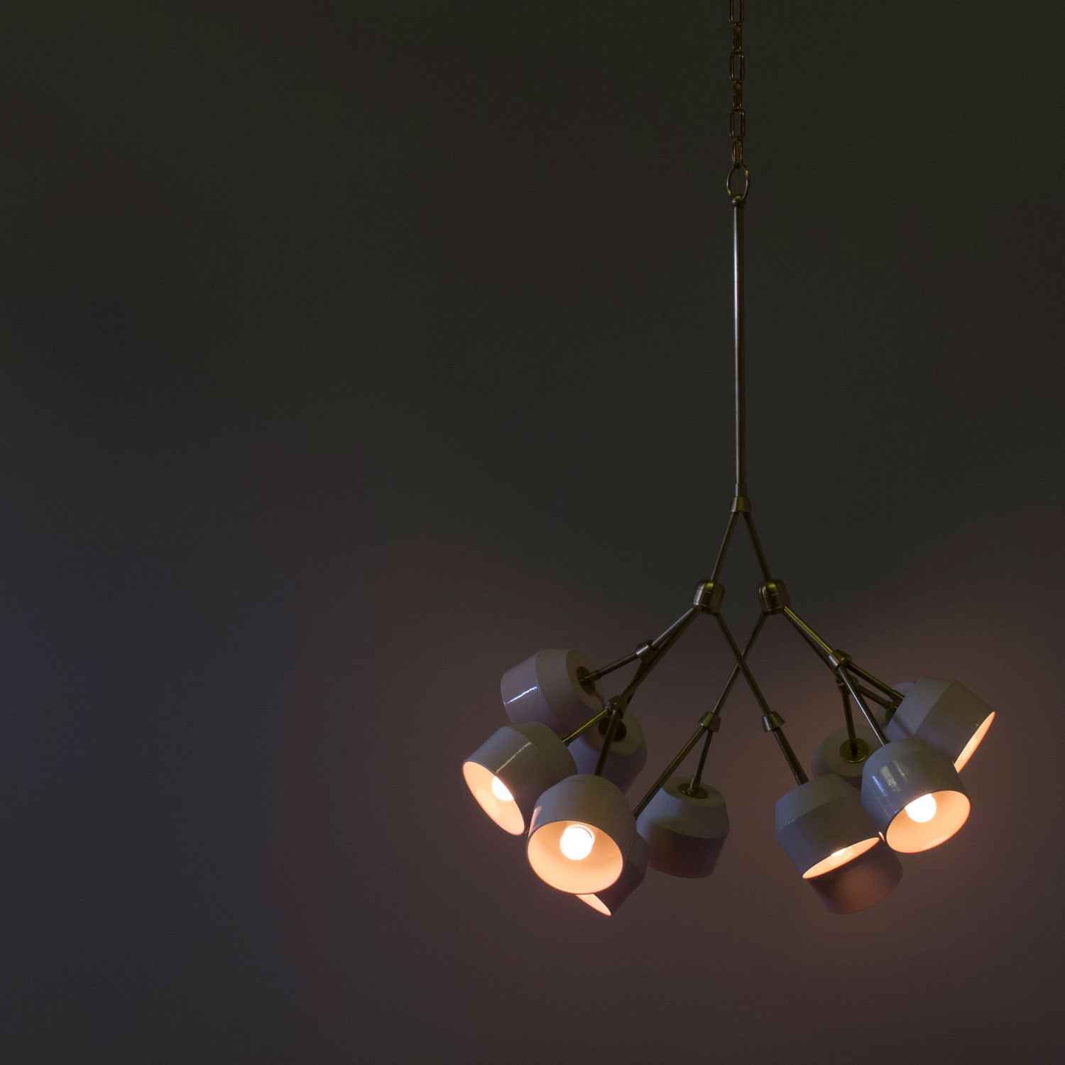 Forchette Chandelier by Materia Designs | Yellowtrace