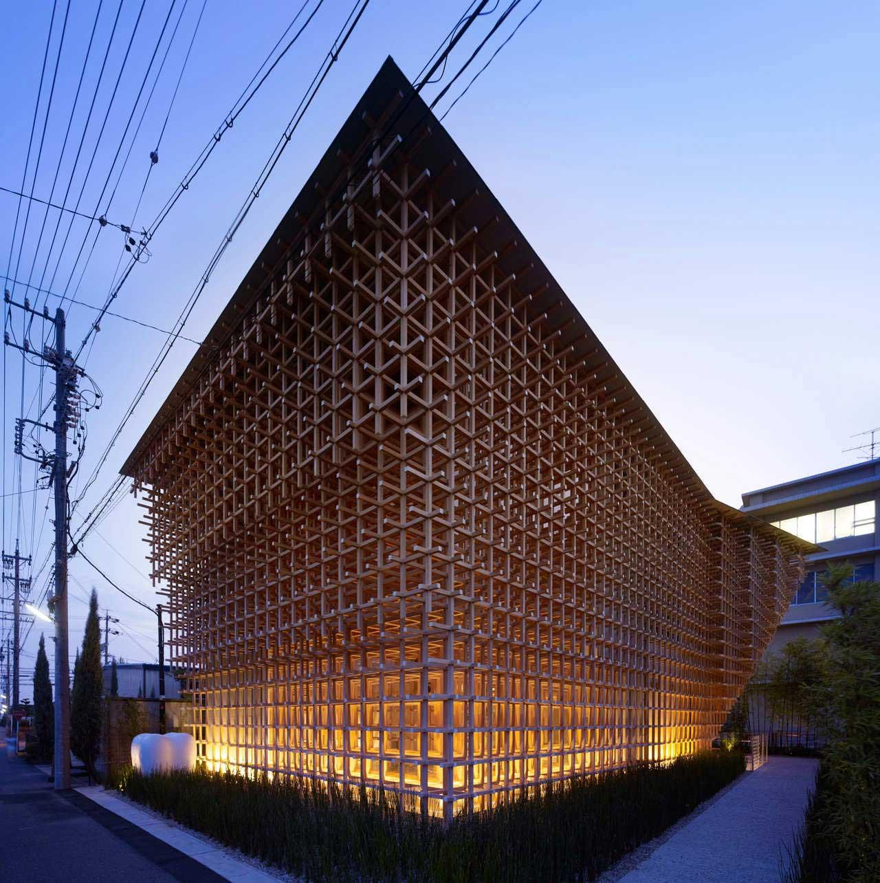GC Prostho Museum Research Center by Kengo Kuma + Associates | Yellowtrace