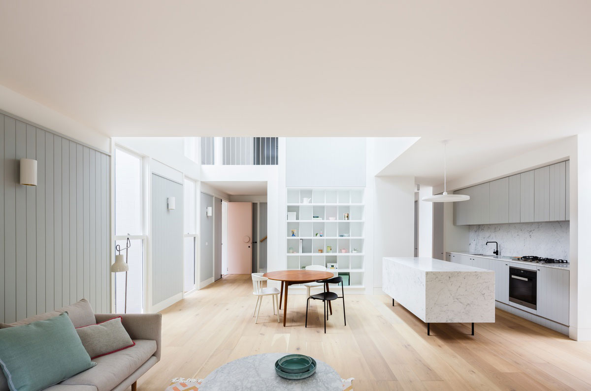House in Double Bay by Tribe Studio Architects. Photo by Katherine Lu | Yellowtrace
