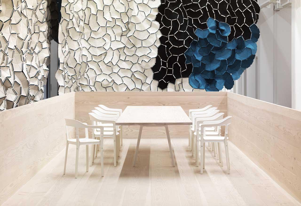 Kvadrat Showroom in Copenhagen by Ronan + Erwan Bouroullec | Yellowtrace