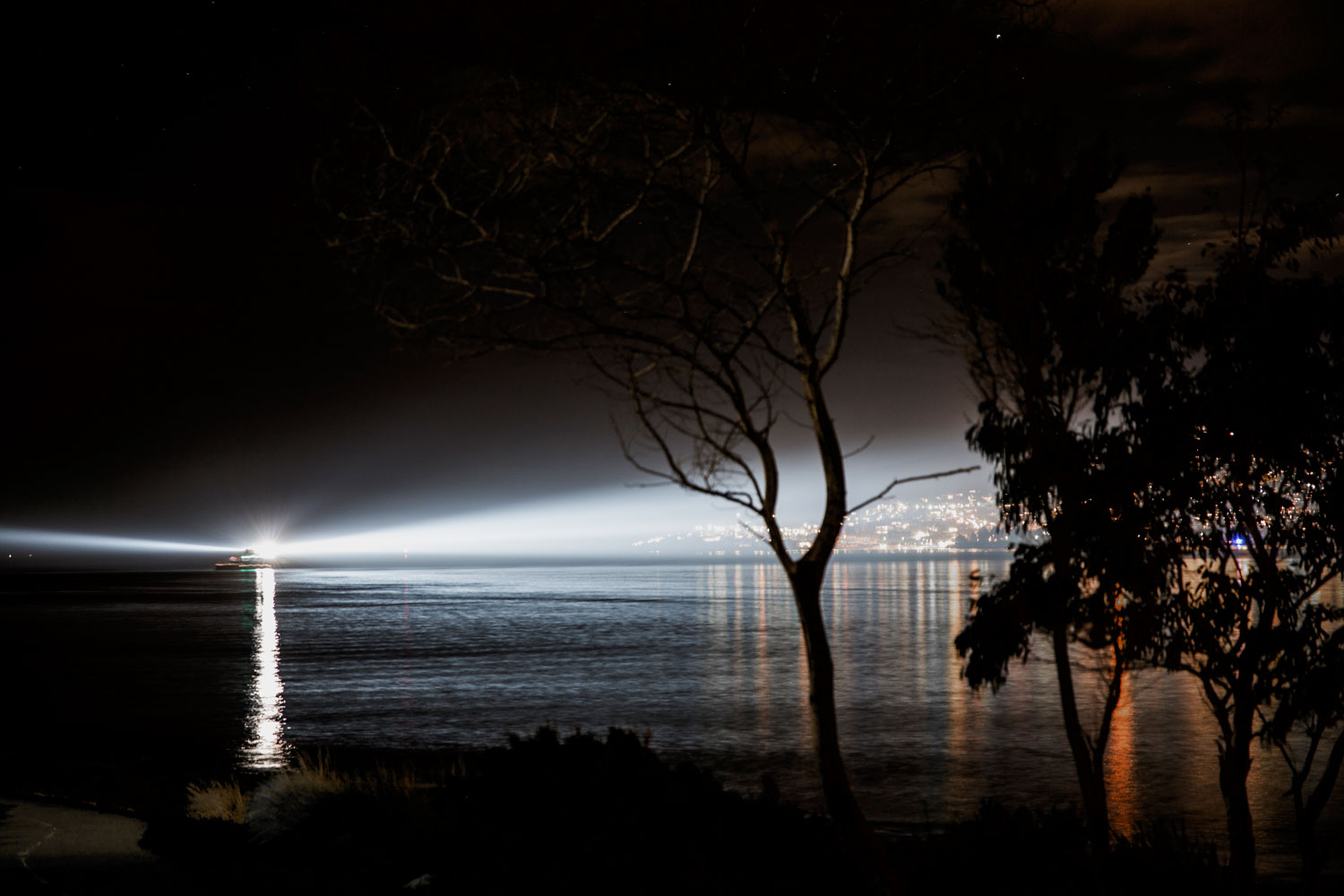 Night Ship by Anthony McCall | Yellowtrace