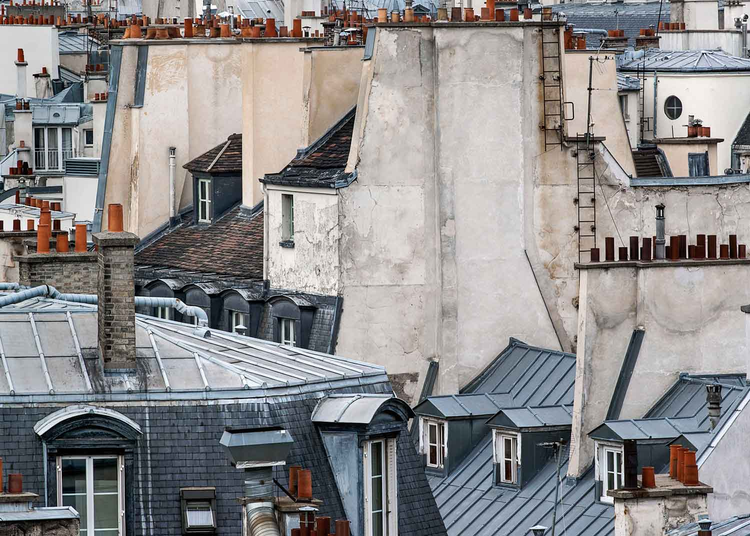 Paris Roof Tops Photographed By Michael Wolf