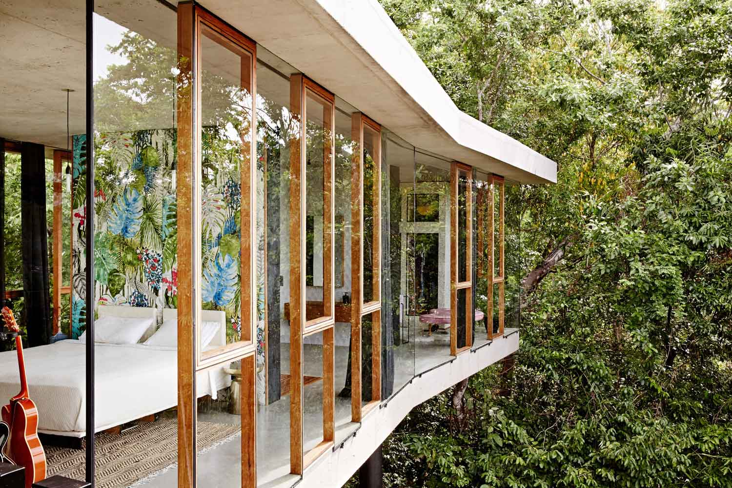 Planchonella House by Jesse Bennett Architect. Photo by Sean Fennessy | Yellowtrace