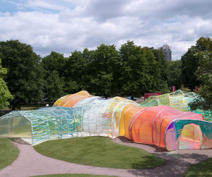 Serpentine Pavilion by SelgasCano at Kensington Gardens in London | Yellowtrace