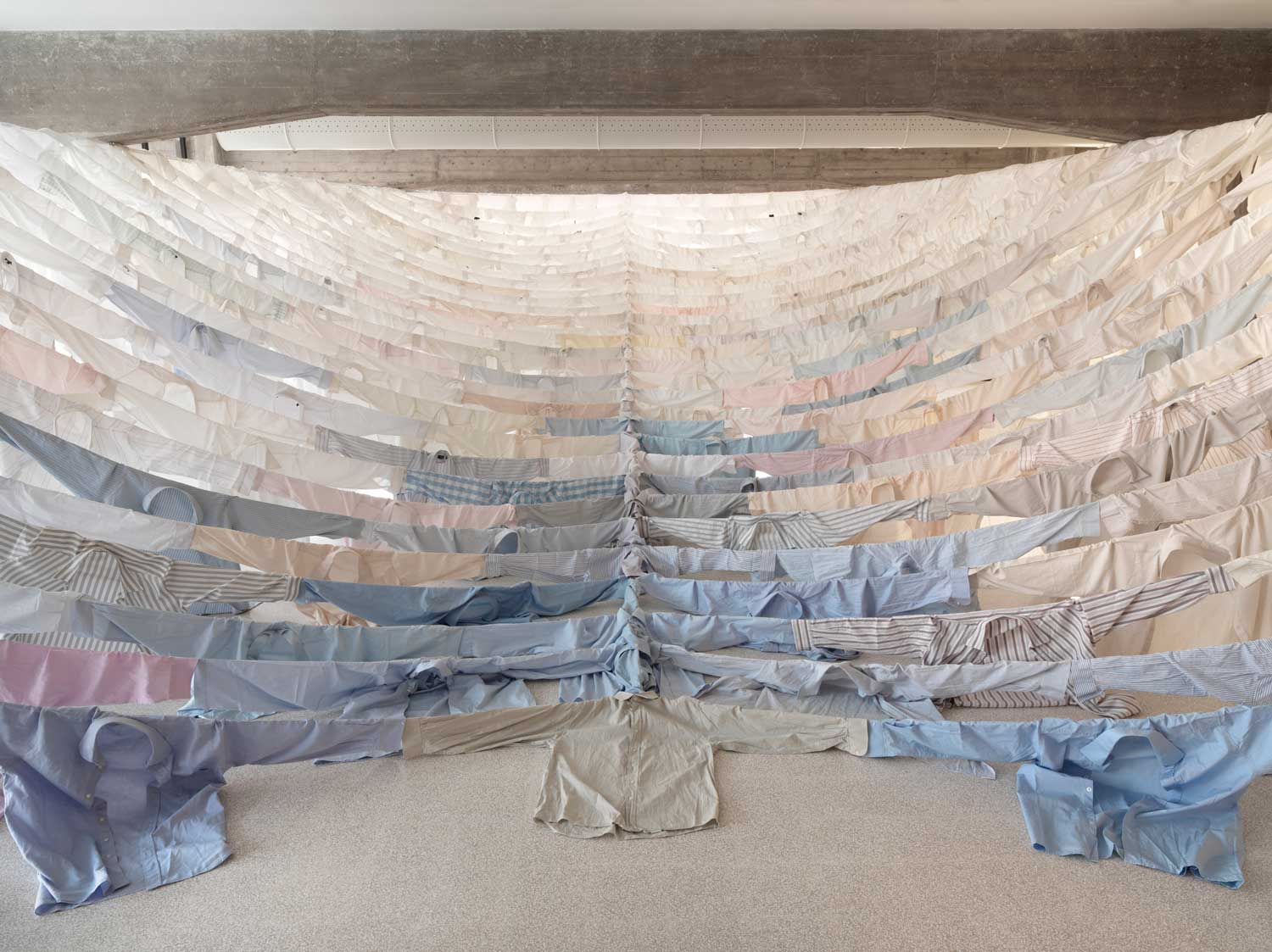 Shirt Installations by Kaarina Kaikkonen | Yellowtrace