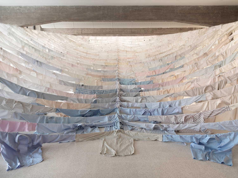 Shirt Installations by Kaarina Kaikkonen | Yellowtrace
