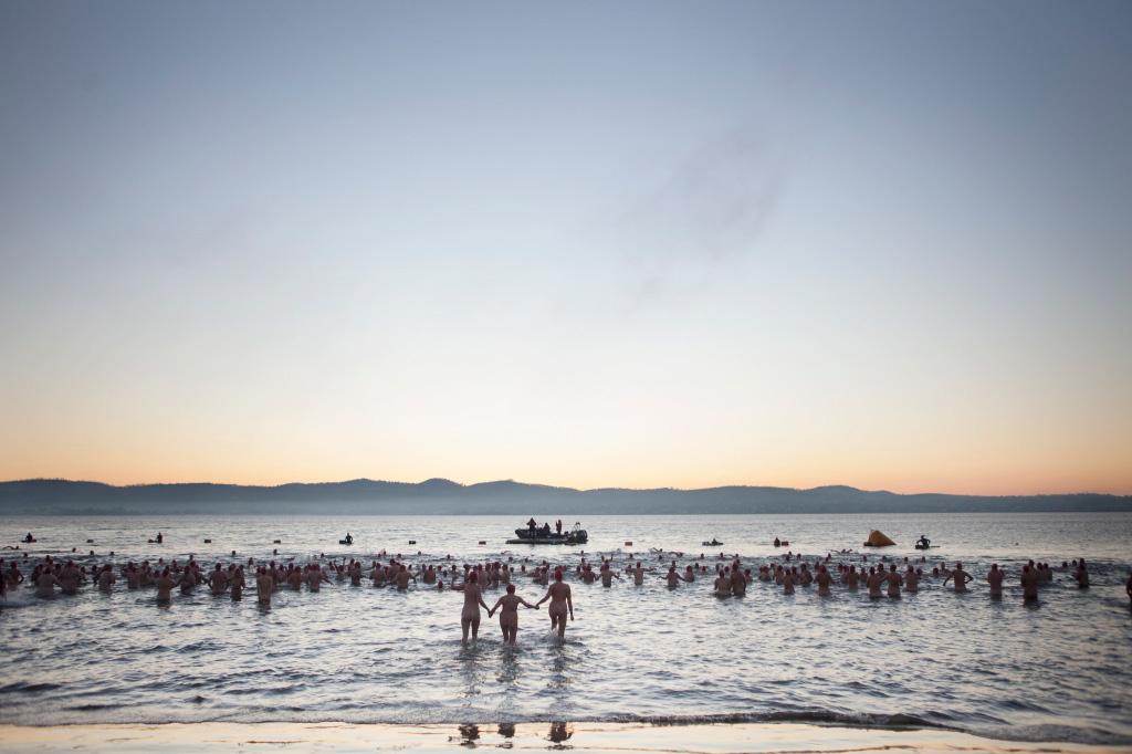 Solstice Swim. Photo by Rosie Hastie | Yellowtrace