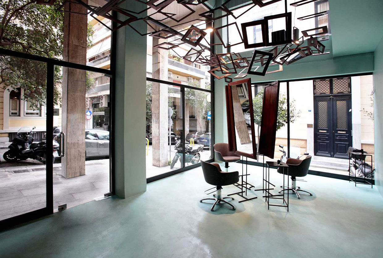 Talking Heads Hair Salon in Athens by bureau de change | Yellowtrace
