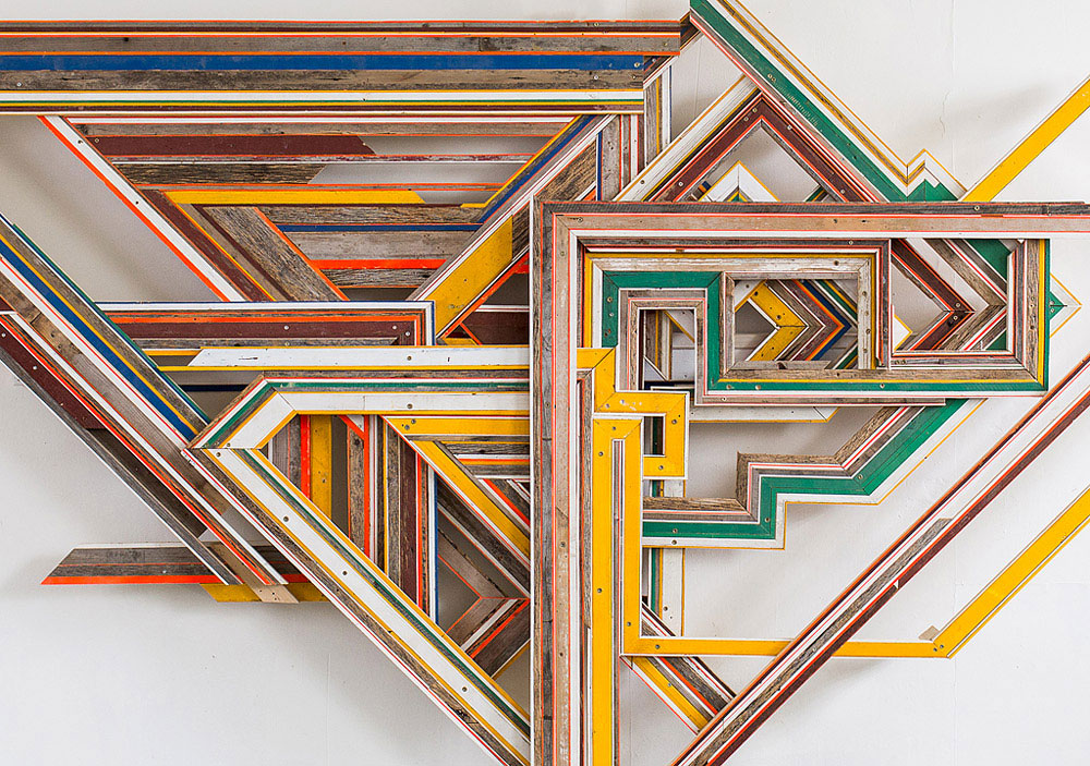 Terrence  Campagna Transforms Discarded Materials Into Art | Yellowtrace