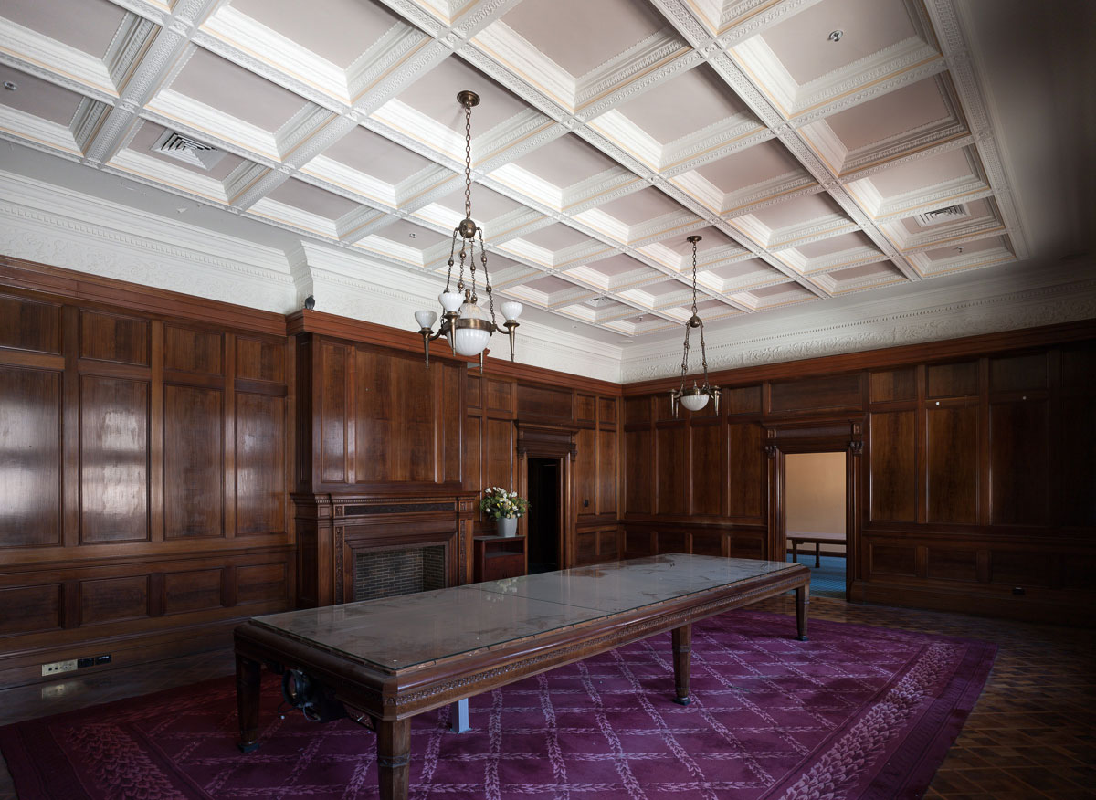 The Old Clare Hotel, board room / Photo Richard Glover   Yellowtrace