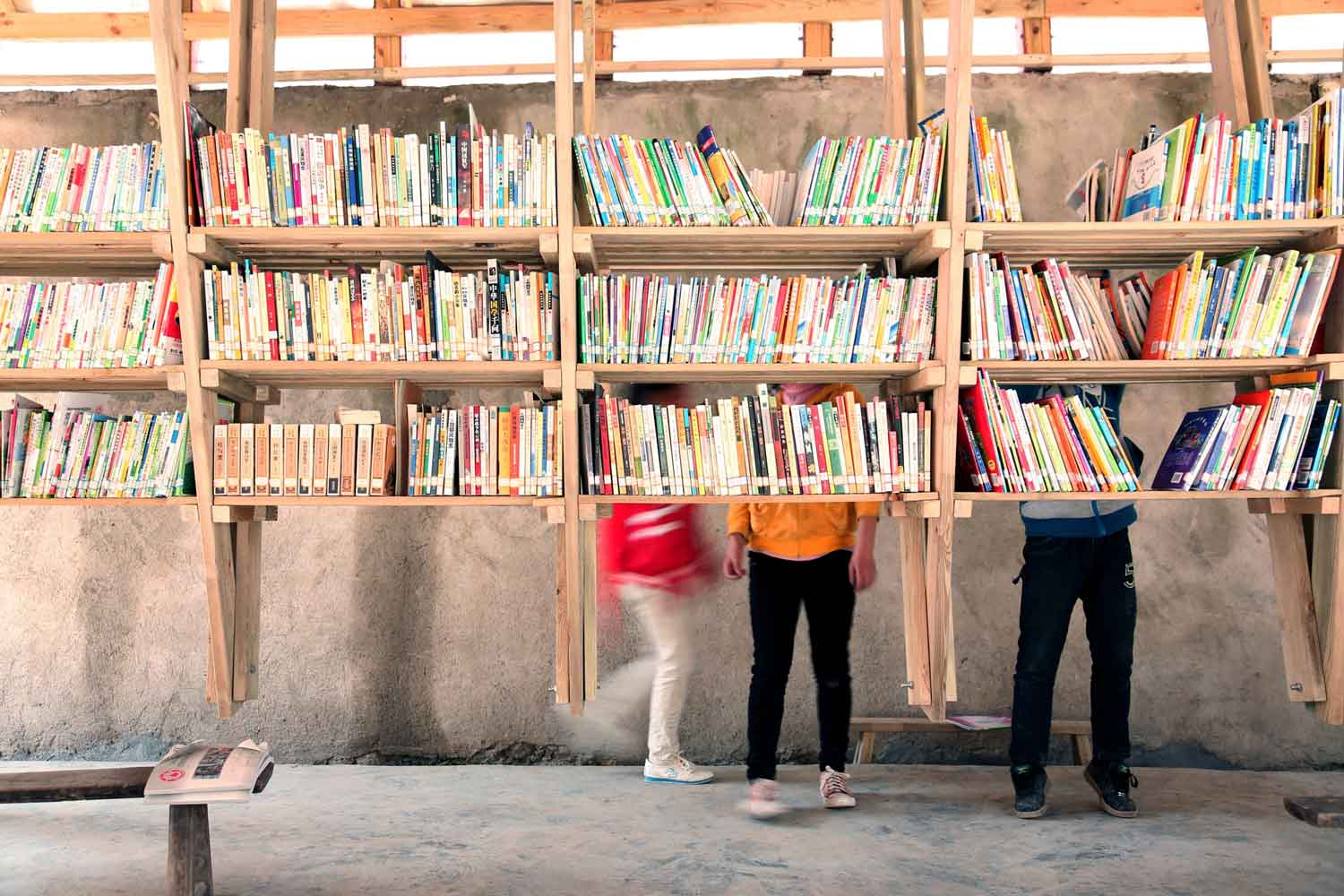 The Pinch Pinch Library & Community Center by Olivier Ottevaere & John Lin | Yellowtrace