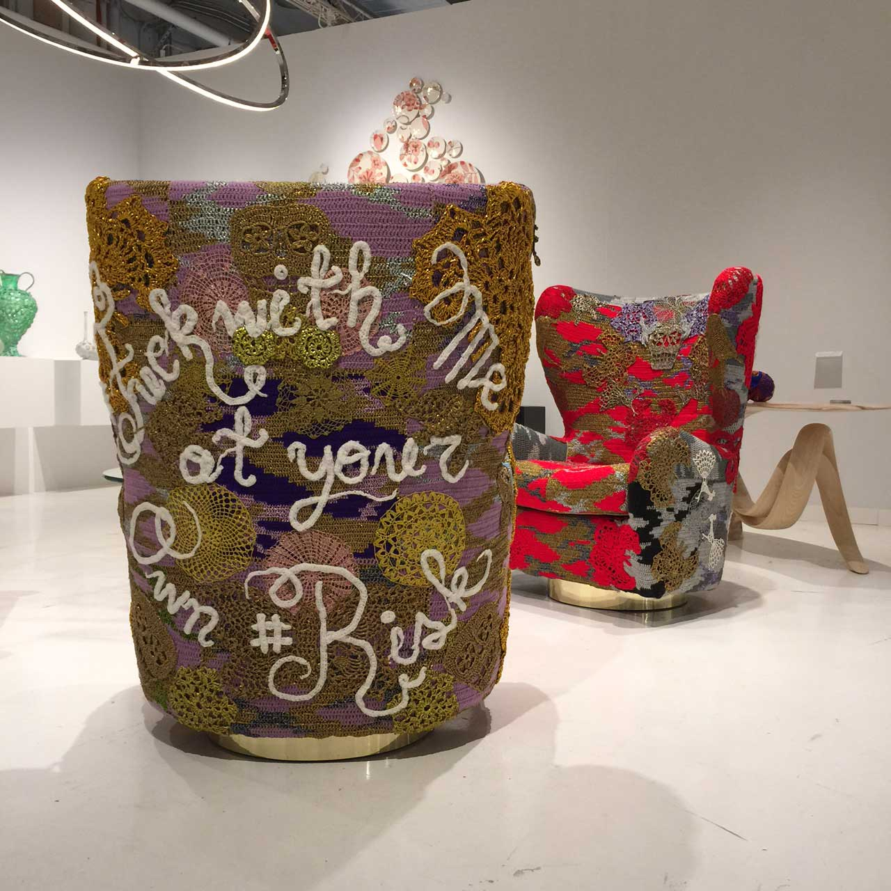 Todd Merrill Custom Originals OLEK at Collective Design Fair | Yellowtrace