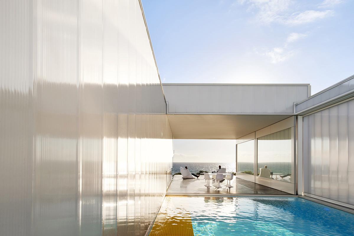 Villa Marittima by Robin Williams Architect. Photo by Dean Bradley | Yellowtrace