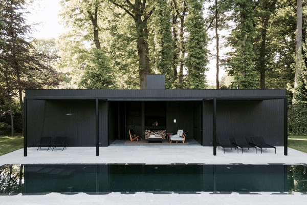 CD Pool House in Belgium by Marc Merckx | Yellowtrace