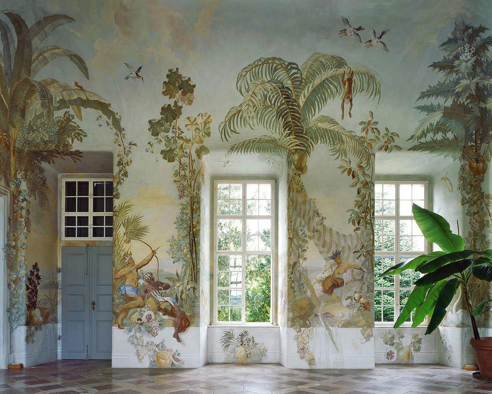 Gartenpavillon Stift Melk Wall murals by Johann Baptist, Wenzel Bergl. Photo by Margherita Spiluttini | Yellowtrace
