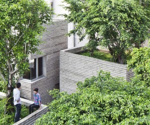 House for Trees by Vo Trong Nghia Architects | Yellowtrace